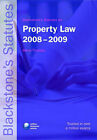 Blackstone's Statutes on Property Law: 2008-2009 by Oxford University Press (Paperback, 2008)