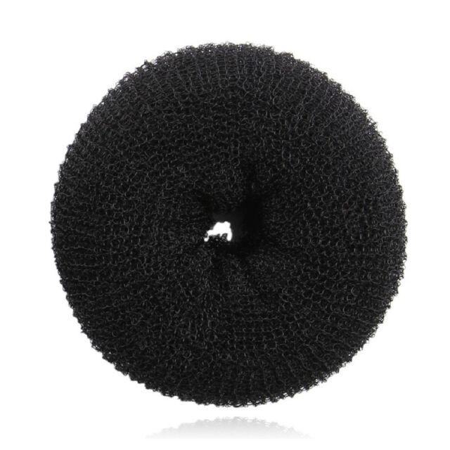 Women  Scrunchie Hair Donut Bun Ring Roll  Former Shaper Styler Maker Tool Party