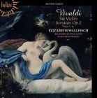 Vivaldi: Six Violin Sonatas, Op. 2, Nos. 1-6 (CD, Jul-2012, Hyperion)