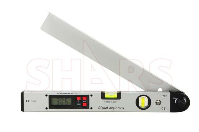 Digital LCD Protractor Gauge Level Angle Finder Inclinometer Magnet Meter R1J5