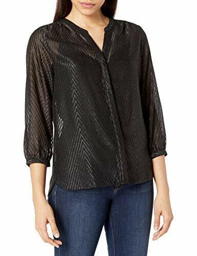 NYDJ Women's 3/4 Sleeve Pintuck Blouse - Choose SZ/color