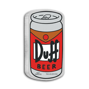 1-oz-Silber-DUFF-BEER-Tuvalu-2019-The-Simpsons-Polierte-Platte