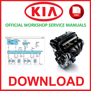 kia ceed service manual download