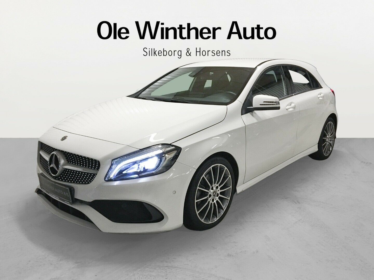 Mercedes A200 1,6 Final Edition AMG Line 5d - 244.900 kr.
