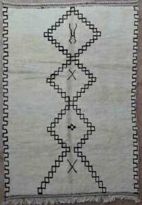 FREE-SHIPPING-tapis-beniouarain-beni-ouarain-moroccan-berber-rug-BO34211