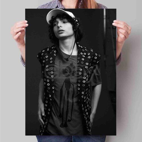 Finn Wolfhard New Custom Personalized Art Print Poster Wall Decor