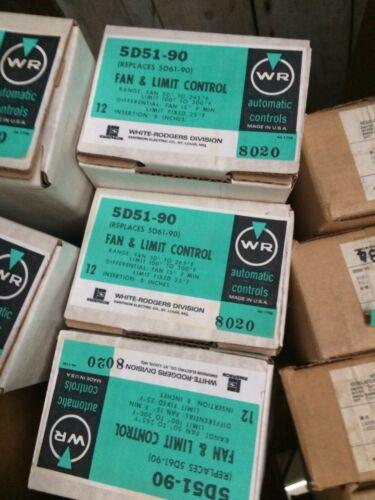 Fan /& limit Control 5D51-90  White Rodgers