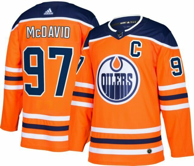 mcdavid orange jersey