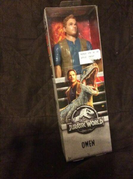 Jurassic World Toys Owen Grady 6-inches Action Figure
