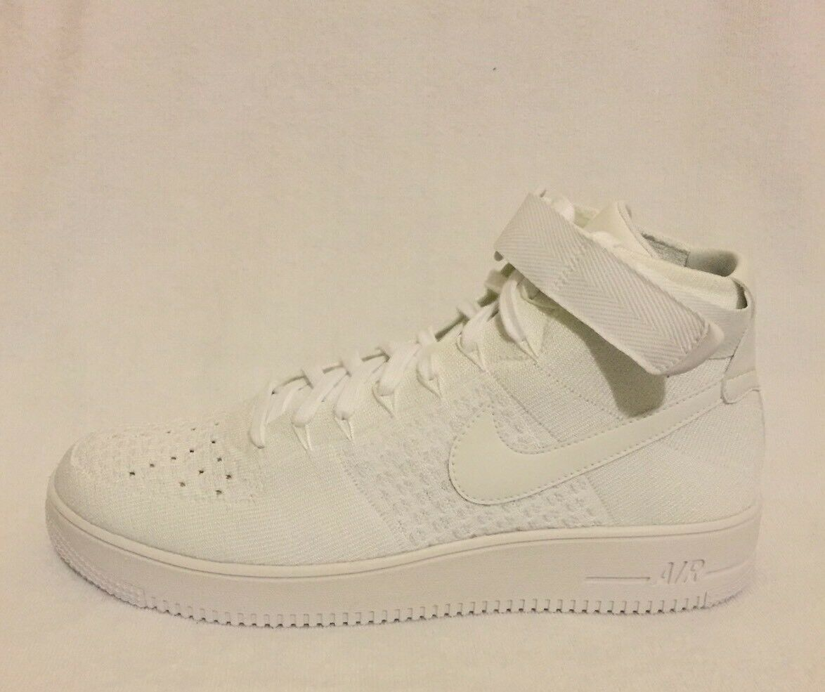 Nike Air Force 1 Ultra Flyknit Mid Taglia 9 NUOVO (UK) NUOVO 9 CON SCATOLA 53d41b