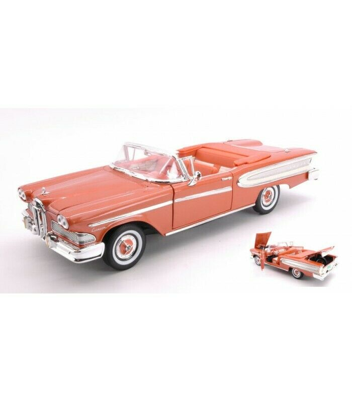 vendite online FORD EDSEL CITATION CONverdeIBLE 1958 1958 1958 LIGHT METtuttiIC Marroneee 1 18  risparmia fino al 70%