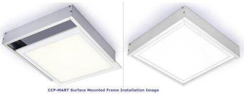 2SET//PACK 2X4FT LED PANEL LIGHT SURFACE MOUNTED FRAME SURFACE MOUNTED KIT