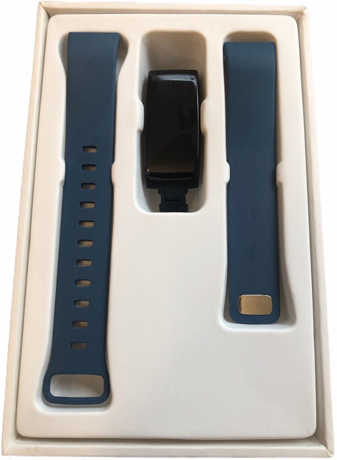 TechComm V5 Fitness Smart Watch Heart Rate Sleep Monitor Step Tracker Blue NEW Featured fitness heart monitor rate sleep smart step techcomm tracker watch