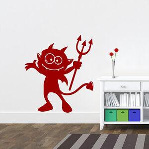 Wandtattoo-Teufelchen-kleiner-Teufel-Aufkleber-Wall-Art-Wand-Tattoo-2051