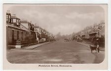 MIDDLETON STREET, ALEXANDRIA: Dunbartonshire postcard (C11867)