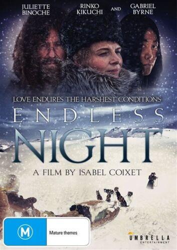 1 of 1 - ENDLESS NIGHT (DVD 2016) JULIETTE BINOCHE, RINKO KIKUCHI. GABRIEL BYRNE-LIKE NEW