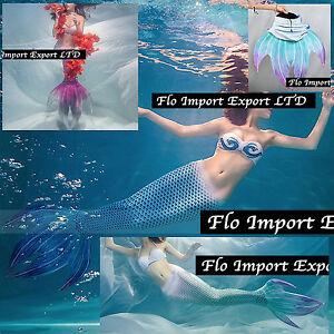 Costume Tail Siren 4 Tips Woman Swimsuit Mermaid Tail Seaside Pool