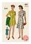 Tuta anni 1940 Play e Gonna Vintage Sewing Pattern-Busto 36