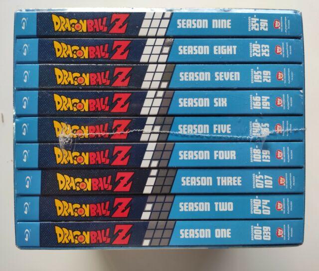 Dragonball Dragon Ball Z Blu Ray Complete Series Season 1 2 3 4 5 6 7 8 9 SEALED