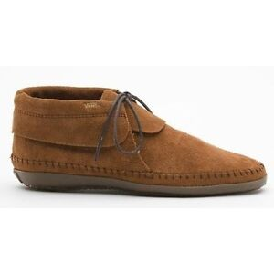 77a917e1a1 Image is loading Vans-Mohikan-Women-039-s-Moccasins-Color-Brown-