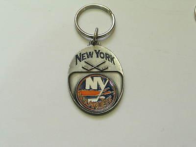 Hockey Team Schlüsselanhänger Mild And Mellow Automobilia Plaketten United New York Islanders Nhl Schlüsselanhänger