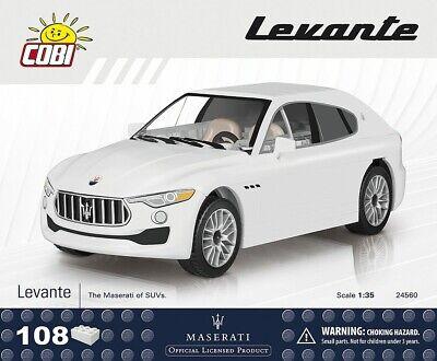 #24560 - Cobi Maserati Levante-bianco - 1:35-mostra Il Titolo Originale