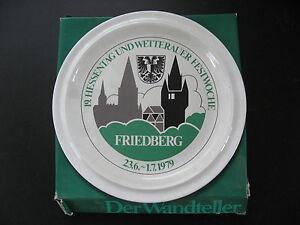 Hessentag-SAMMELTELLER-FRIEDBERG-1979-von-Goebel
