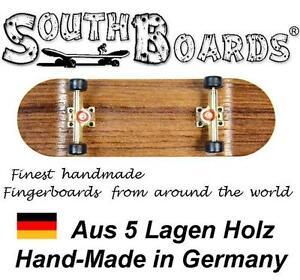 EDEL-Board-SET-WENGE-GO-SWZ-SOUTHBOARDS-Handmade-Wood-Fingerboard-Deck-Holz