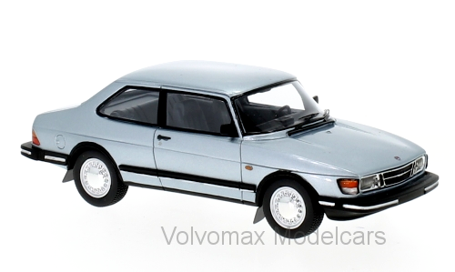 wonderful NEO-modelcar SAAB 90 1982 - lightbluemetallic - 1/43 - lim.edition