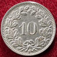 Switzerland 10 Rappen 1939 (A2209)