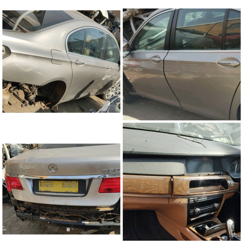 Stripping BMW 7 series F01 Car Spares Parts
