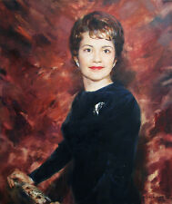 Custom Reproduction █ oil painting on canvas from your Photo█by artist H.Shukina