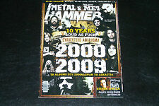 10 YEARS HEAVY METAL 2000-2009 GREEK METAL HAMMER MAGAZINE 12/2010 IRON MAIDEN