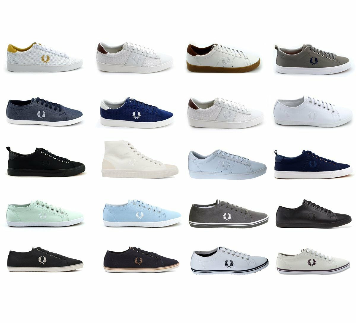 Fred Perry Schuhe Sneaker Damen Herren Kingston Spencer div. Modelle & Farben