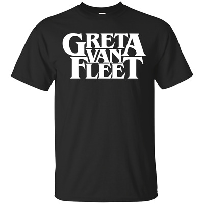 Mens Greta Van Fleet 2019 Tour Back Print Graphics Casual Hoodie