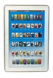 Baby iPhone Speaking Tablet Educational Toys 1 2 Year Toddler Learning English