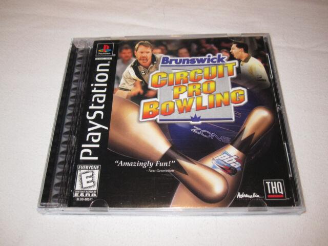 Brunswick Circuit Pro Bowling (PlayStation PS1) Black Label Complete Nr Mint!