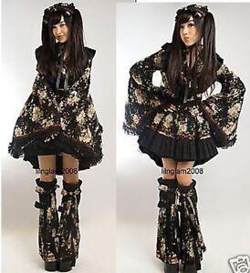 Robe-gothic-lolita-geisha-waloli-kimono-warmers