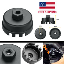 Oil Filter Cap Wrench Cup Socket Remover Tool For Toyota Lexus 645mm 14 Flutes