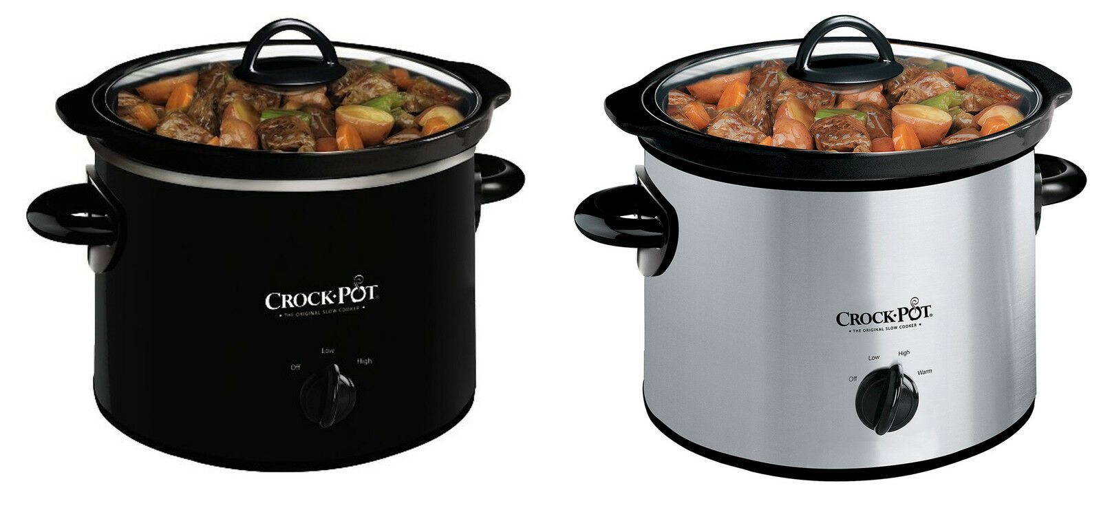 Crock Pot Scr300 Manual Slow Cooker 2 Colors Ebay