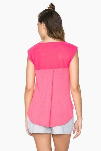 Desigual Sport-// Freizeit Kollektion Shirt *TS/_L T-S SLEEVELESS P*  rouge red