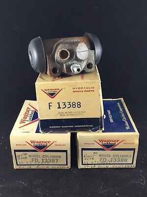 """PONTIAC CHEVY OLDS BUICK REAR WHEEL CYLINDERS 1/"""" INCH BORE REAR NEW PAIR"""