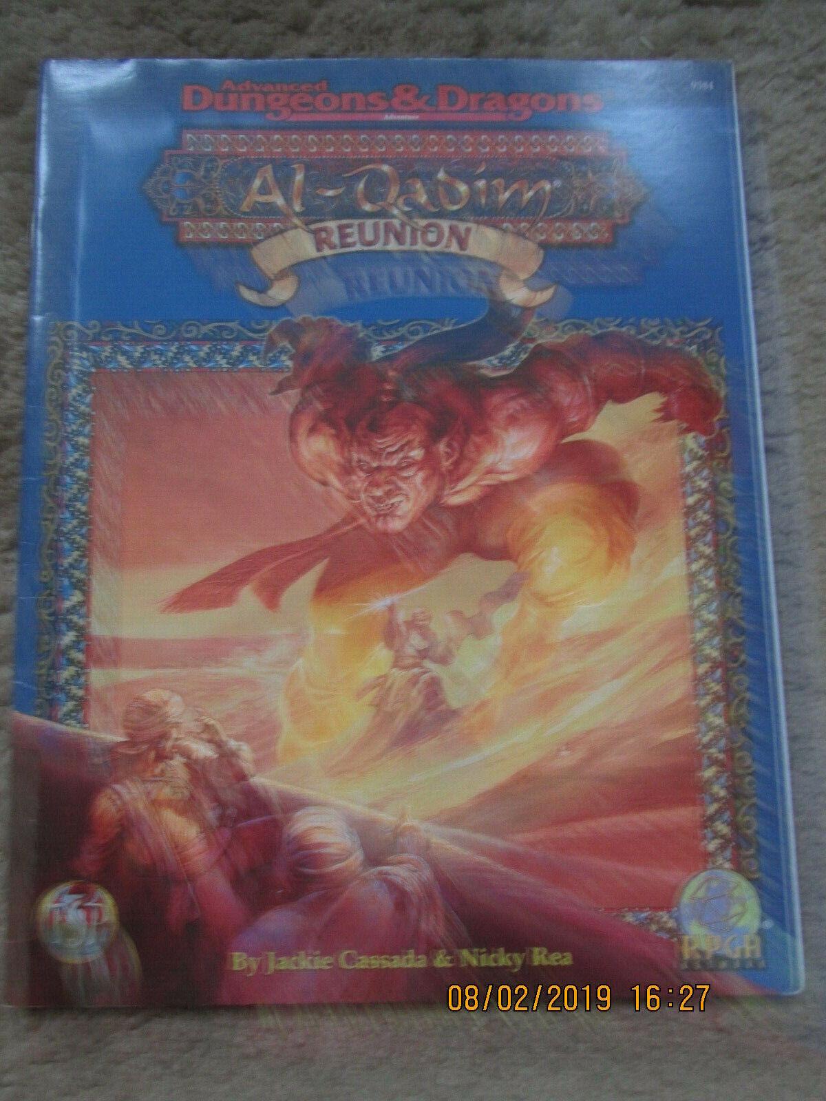 TSR AD&D 2E AL QADIM REUNION RPGA 9584 SW ADVANCED DUNGEON DRAGON