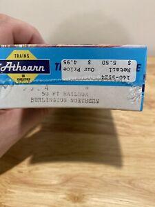 HO-Scale-Athearn-5524-Burlington-Northern-50-039-Railbox-Box-Car-Sealed