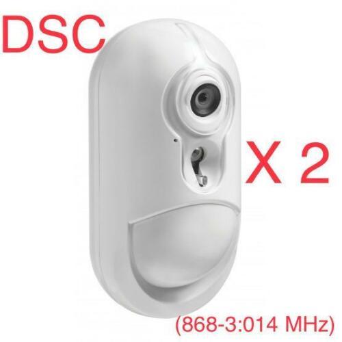 PG8934 PowerG Wireless Camera PIR  Detecto DSC Security Alarm System PACK OF 2