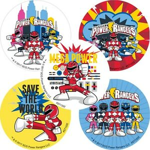Power-Rangers-Stickers-x-5-Birthday-Party-Favours-Power-Rangers-Loot-Bags