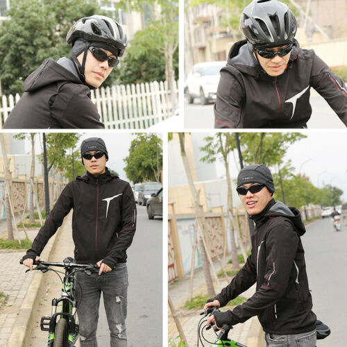 Winddichtes Fleece Mütze Sport Race Cap Unisex Fahrrad Helmmütze Unterziehmütze