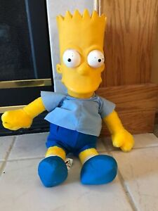"The Simpsons Bart Simpson Vinyl Head Plush Styrene Doll - 22"" - Acme"