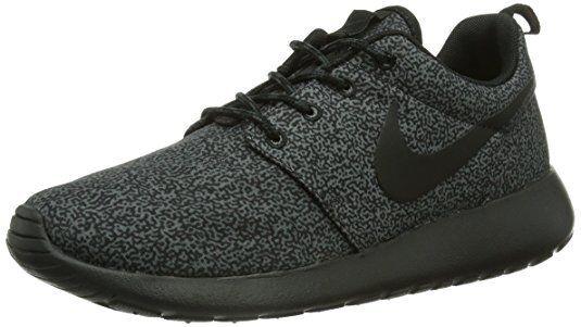 Nike WMNS Rosherun Print BLACK [599432-017] SIZE 11 (28CM)