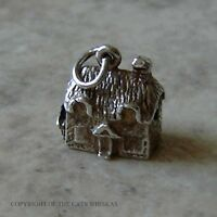 VINTAGE SILVER COTTAGE WITH WORKING STANHOPE CHARM